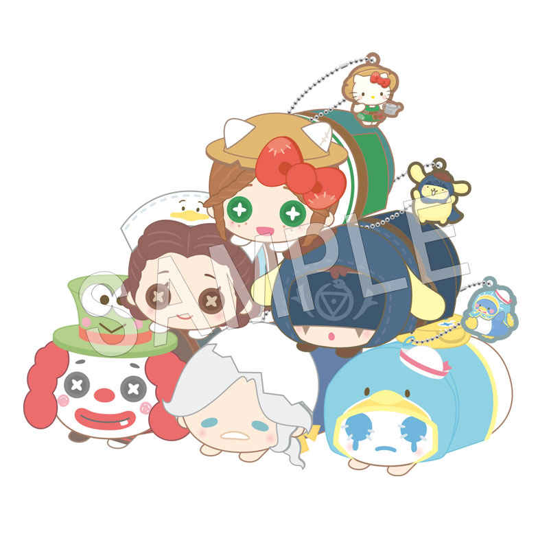 中外鉱業 IdentityV×サンリオキャラクターズ もちころりん ぬいぐるみマスコット BOX