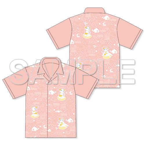 KADOKAWA『ラブライブ!サンシャイン!!』SUMMER VACATIONアロハシャツ 梨子&花丸&鞠莉Ver.