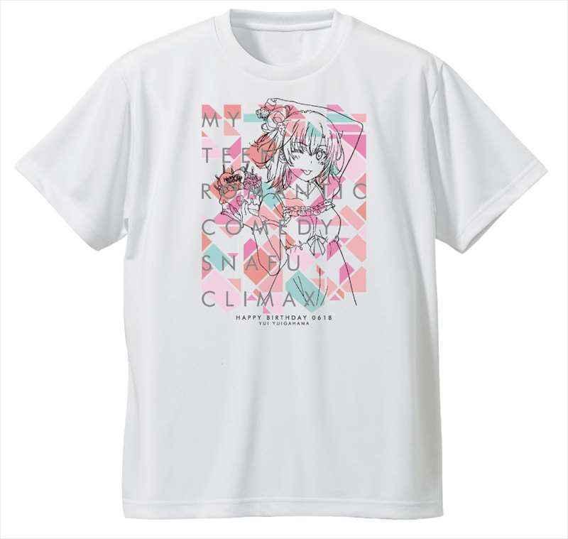 TBSグロウディア やはり俺の青春ラブコメはまちがっている。完 ドライTシャツ 結衣 お花柄 M