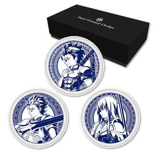 ディライトワークス Fate/Grand Order ミニプレート3枚セット(フィオナ騎士団)