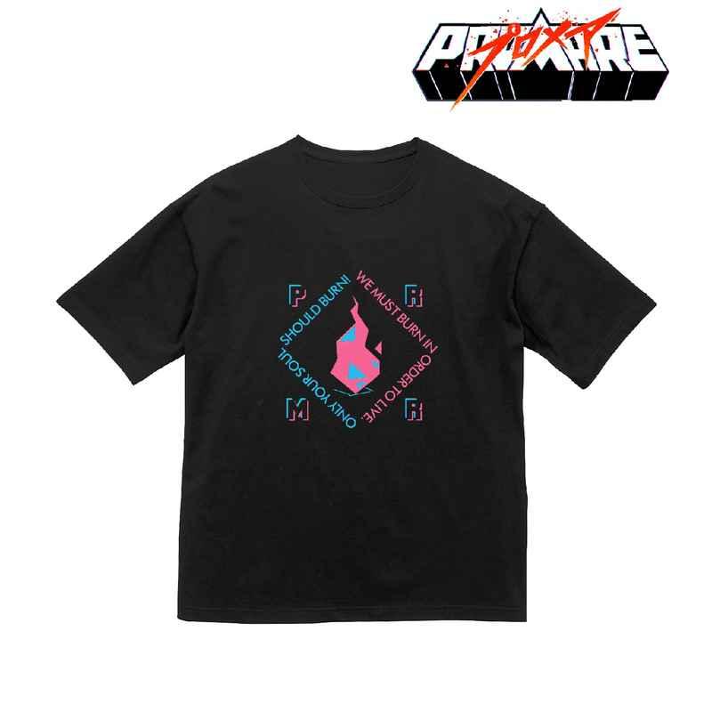 アルマビアンカ プロメア バーニッシュフレア BIGシルエットTシャツユニセックス(サイズ/L)