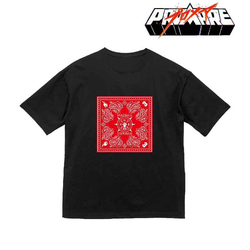 アルマビアンカ プロメア バンダナデザイン BIGシルエットTシャツユニセックス(サイズ/XL)