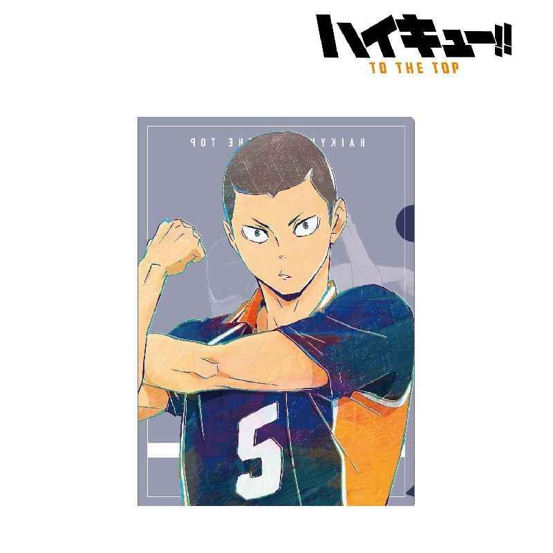 アルマビアンカ ハイキュー!! TO THE TOP 田中龍之介 Ani-Art 第4弾 クリアファイル