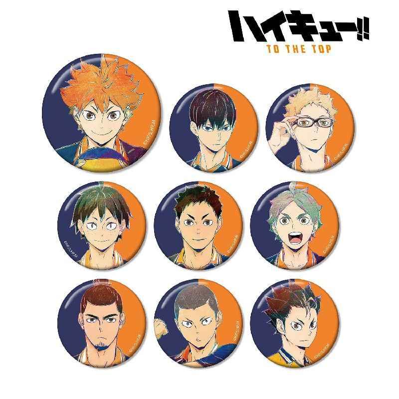 アルマビアンカ ハイキュー!! TO THE TOP トレーディング Ani-Art 第4弾 缶バッジ BOX