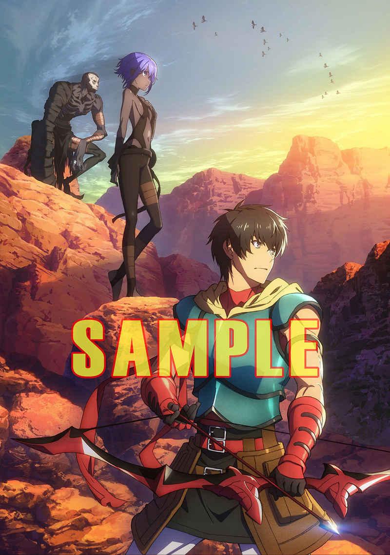 ツクルノモリ 劇場版Fate/Grand Order -神聖円卓領域キャメロット- A3クリアポスター D
