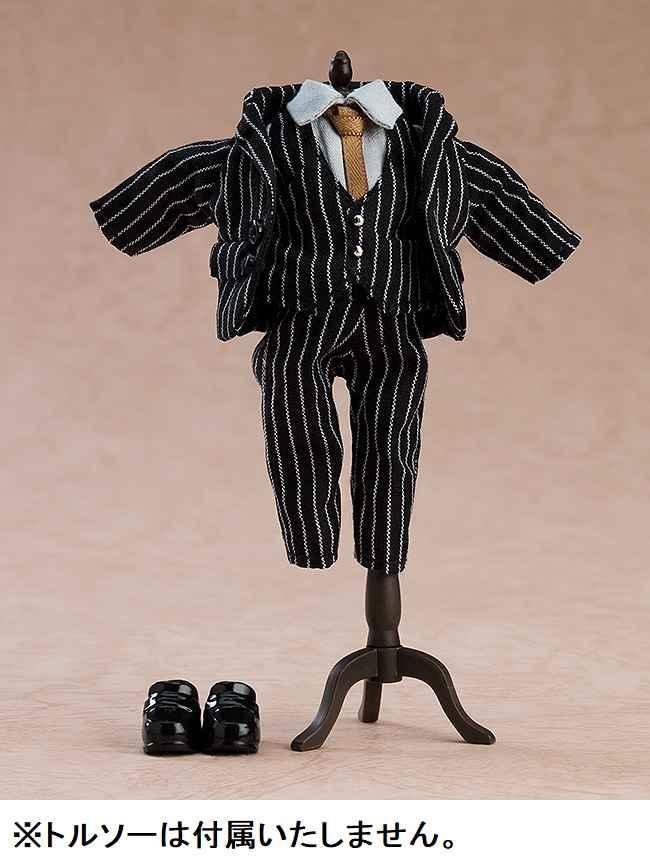 グッドスマイルカンパニー ねんどろいどどーる おようふくセット スーツ(ストライプ)