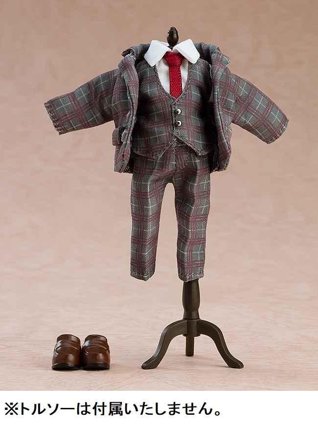 グッドスマイルカンパニー ねんどろいどどーる おようふくセット スーツ(チェック)